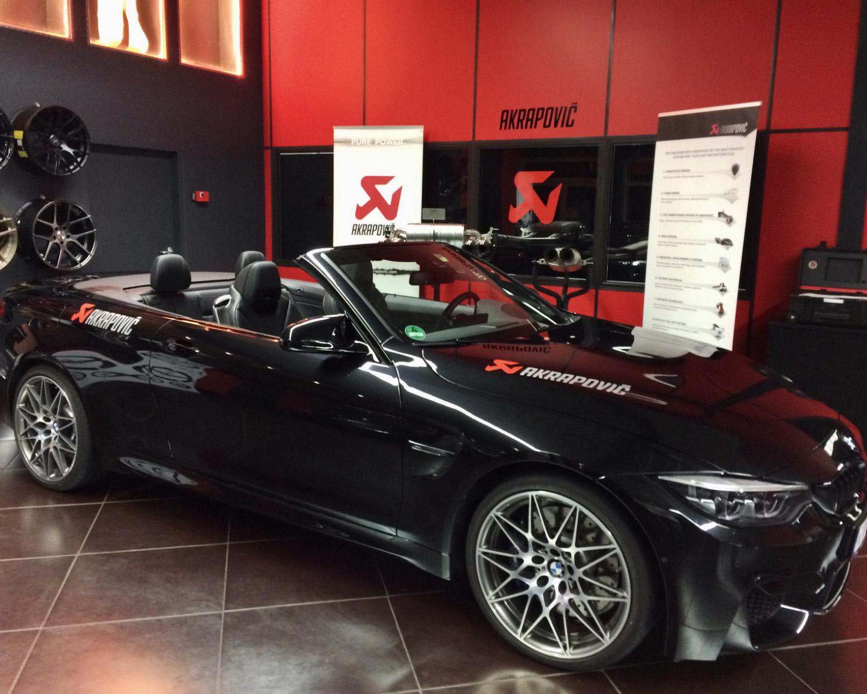Akrapovic BMW und Abgasanlage