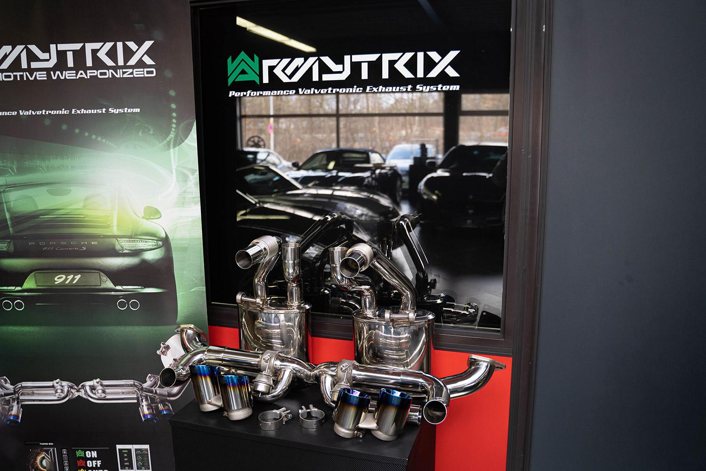 Armytrix Abgasanlage